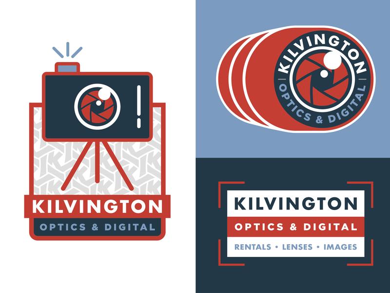 Kilvington Visual Identity Elements badge design illustration brand identity brand design badge design graphic design brandmark visual identity identity logo branding
