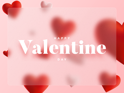 Valentine Day! red design typography valentines heart love happy valentines day valentine