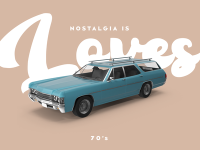 Nostalgia is Loves design color history car nostalgia loves
