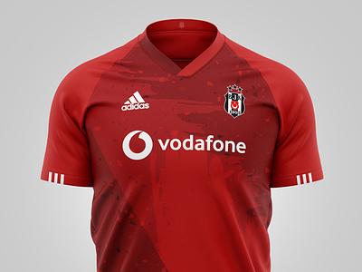 Beşiktaş 2019 - 2020 Jersey black  white red türkiye beşiktaş bjk besiktas turkey jersey soccer football design