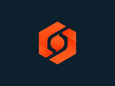 HEXA + LETTER S vector minimal typography branding ui logo design modern logo creative logo logodesign letter s logo hexa logo logomark