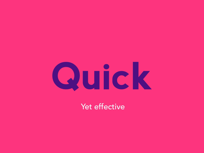 Quick 3D Logo