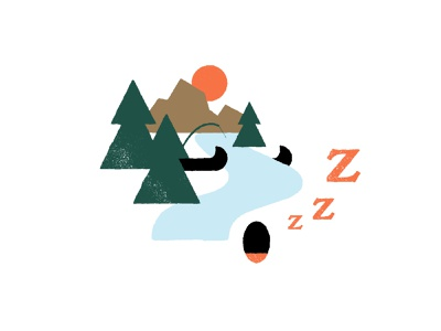 Sleeping river night canada quebec nature forest sleep fisher fish fishing canoe mountain river