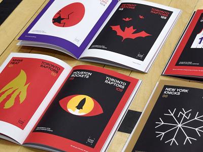 Game tales - Augmented reality fanzine canada augmented reality book fanzine illustration minimalist toronto raptors basketball nba