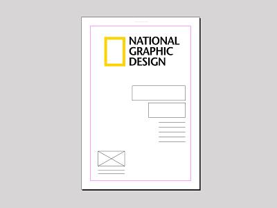 National graphic design nature brand national geographic magazine editorial layout indesign graphic design natgeo