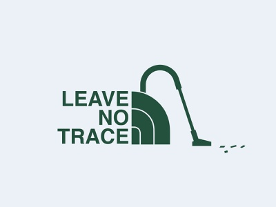 Leave no trace planet tnf brand mountain hike nature earth leave no trace the north face