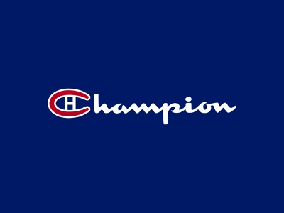 Montreal Canadiens minimalist illustration brand champion mtl habs stanley cup nhl canadiens montreal