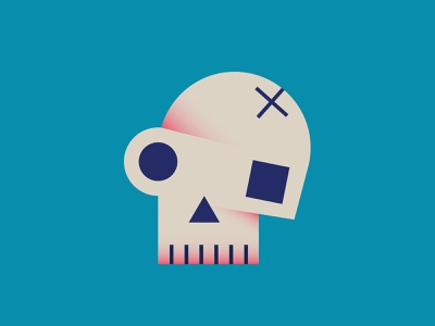 Game over skull minimalist playstation play die dead death game over game