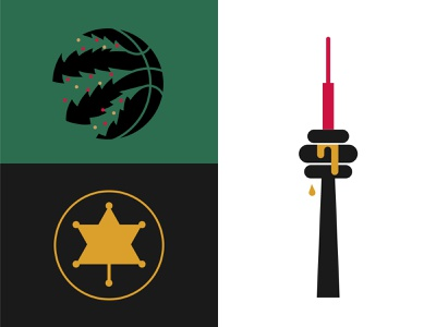 Raptors gametales minimalist illustration sport maple leaf sheriff star mavericks cn tower christmas toronto raptors
