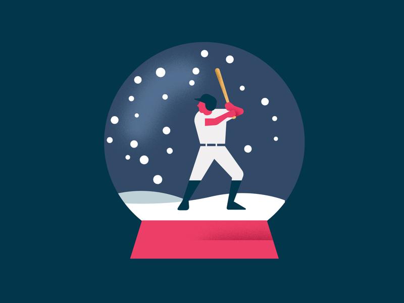 Baseball in winter