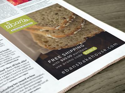 Eban's Bakehouse Publication Ad