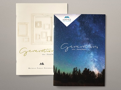 Covers for Annual Reports