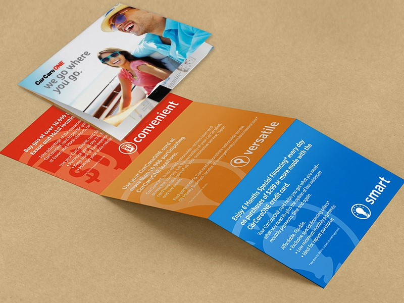 Direct Mail Piece clean b2b icons color direct mail