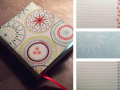Kaleidoscope Pattern Journal