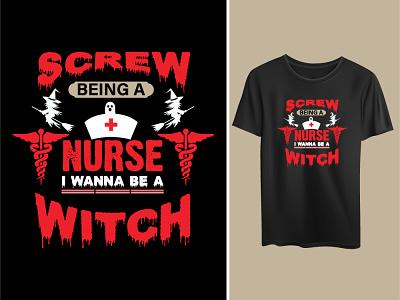 Halloween nurse design eps mockup halloween design art quotes nurse
