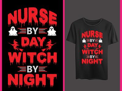 Halloween nurse vector designt shirt nurse hallowen