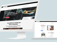 Website - Product landing page