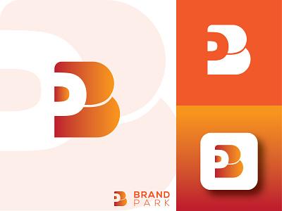 BP Logo Design for a Brand illustrator tranding trrand letter mark lettering bp letter letter p b modern vector ui logo illustration design creative company branding brand app