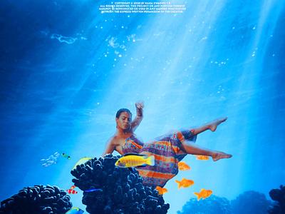 Under the sea by kwadwo tk unsplash adobe photoshop design