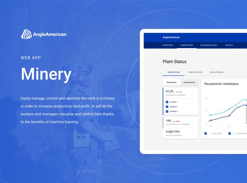 Minery Web App   Product Design