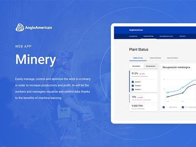 Minery Web App | Product Design figma user interface design ui design ux design product design web app