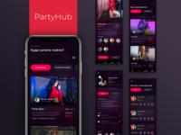 Mobile app for PartyHub