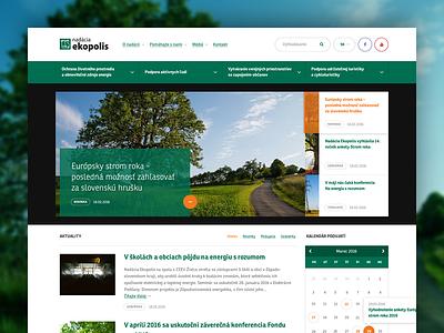 Ekopolis environment foundation grid bootstrap web website ecology