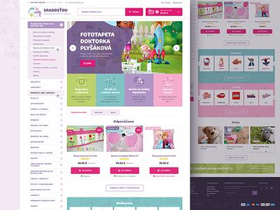 S Radostou child children baby pastel purple pink ecommerce kids