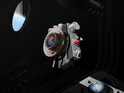 Gomz Leningrad Space Camera - History of Cameras isometric capsule space gomz lomo photography illustrator cameras