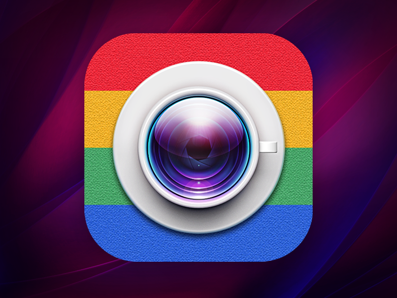 Shoot that food icon cup ios7 ios instagram lens food insta camera saucer icon loggia glass