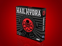 Hail Hydra Boardgame Cover Art