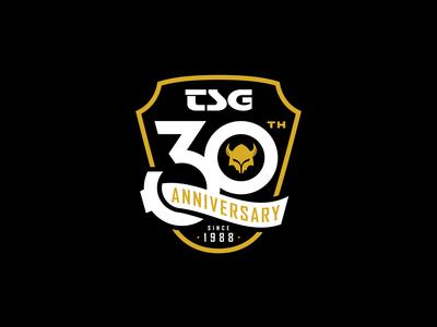 TSG 30th Anniversary Badge