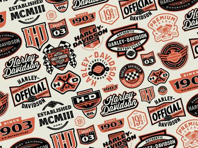 Harley-Davidson Pattern