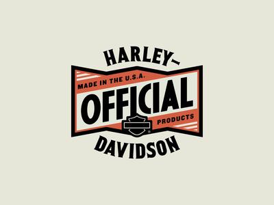 Harley-Davidson Travel Badges Part 4