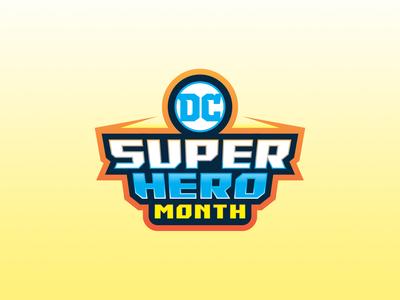 DC Super Hero Month Badge
