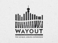 Wayout Tour Company Logo Design