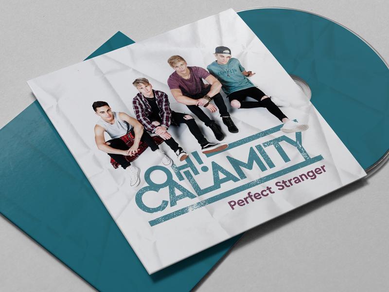 Oh Calamity – Perfect Stranger south africa johannesburg album cover design album art music artwork photography