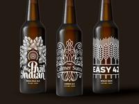 X! Brewing Beer Label Design