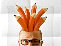 Pencil Head Profile Picture