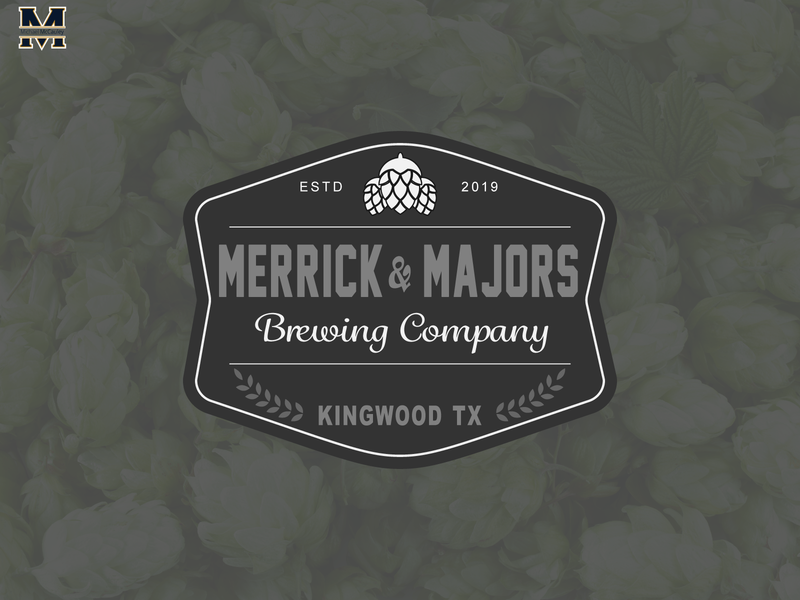 Merrick & Majors Brewing Co. brewing company brewery logo brewery logodesigns logo design logodesign vector illustrator logo