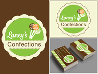 Laney's Confections Logo and Business Cards