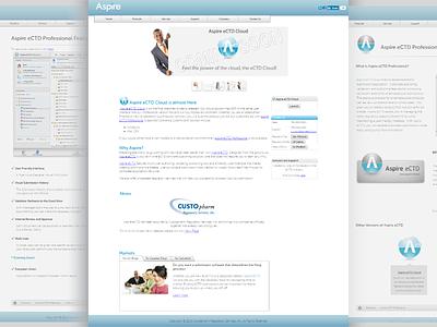 Aspire's Website design development website