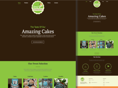 Laney's Confections Website