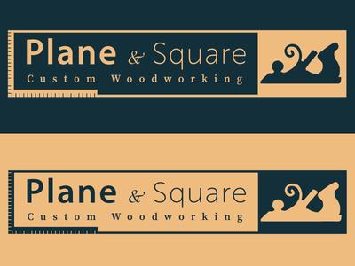 Plane & Square Logo