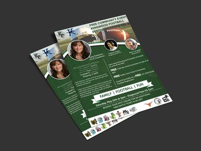 Football Festival Flyer