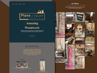 Plane & Square Website