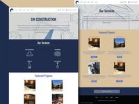 SW Construction Website