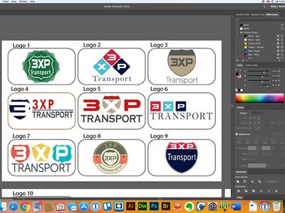 3XP Logo Concepts vector concept branding branding design logodesign logo adobe illustrator