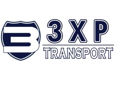3XP Transport Logo logo design logo design branding vector illustrator logodesign logo