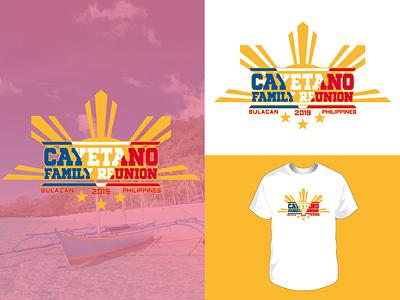 Cayetano Family Reunion vectorart vector tshirtdesign tshirt shirt graphic design illustrator reunion family reunion